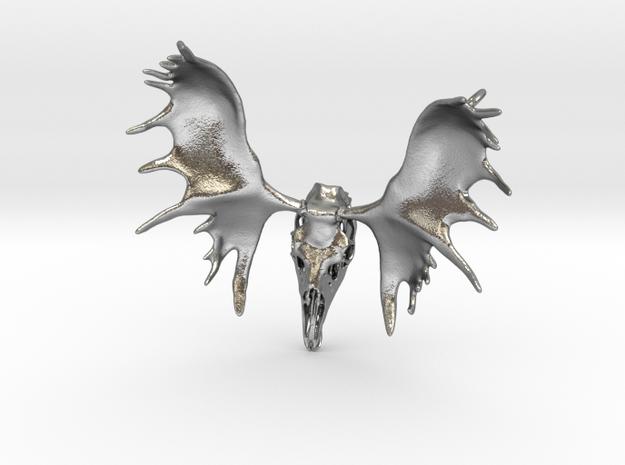 Moose Skull Pendant