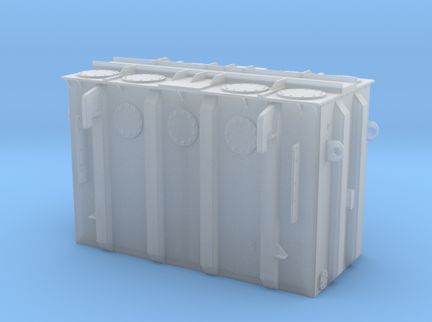 1-87 Transformer in Smooth Fine Detail Plastic