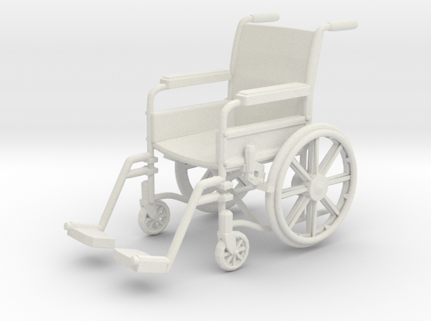 Wheelchair 01. 1:24 Scale