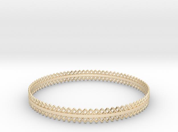 Mercure VI in 14k Gold Plated Brass