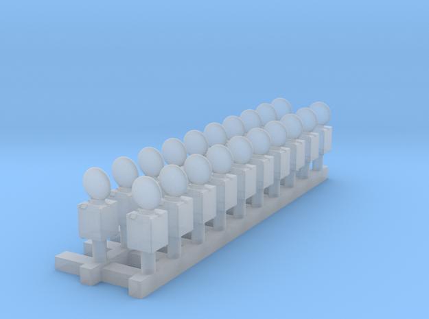 20xEuroblitzer in Smooth Fine Detail Plastic