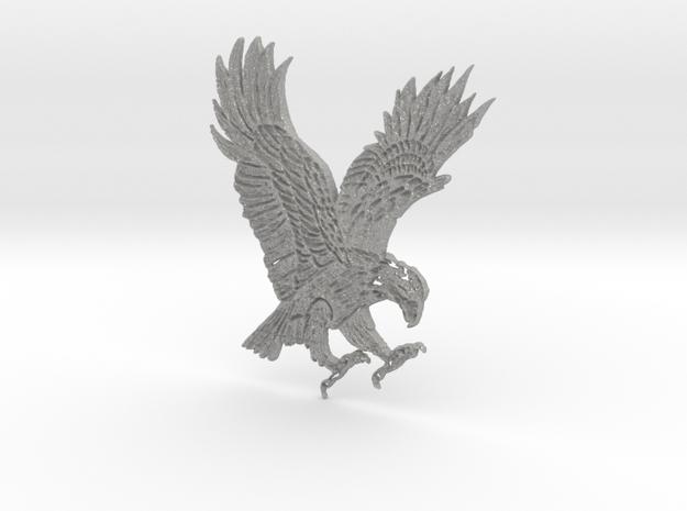 Eagle Pendant in Aluminum