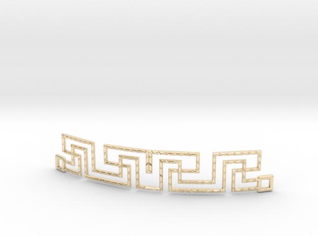 Urban Style Bracelet in 14k Gold Plated