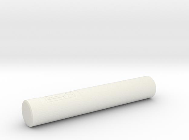 Ptolemy Container in White Natural Versatile Plastic