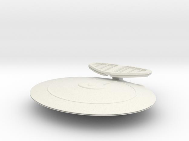 Nebula Vessel 2500 in White Natural Versatile Plastic