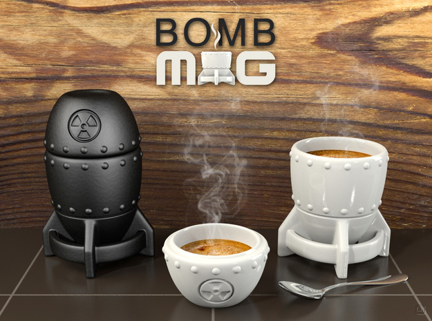 Bomb MUG - Coffee Set