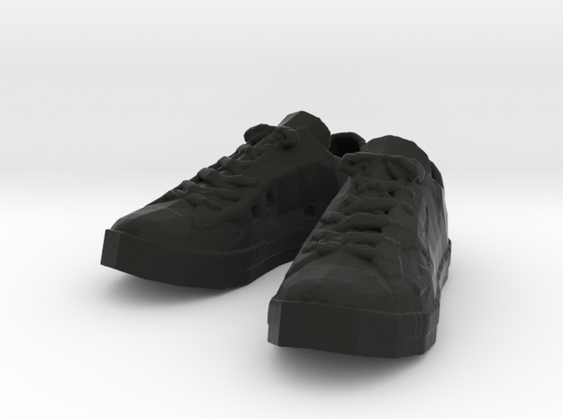 Sneakers in Black Natural Versatile Plastic
