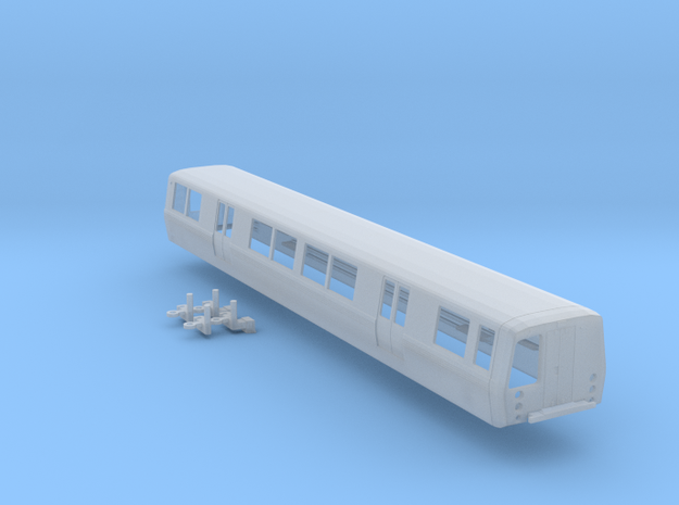 N Scale BART C Car Powered in Frosted Ultra Detail