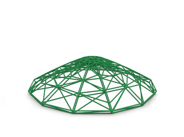 Lamp in Green Strong & Flexible Polished