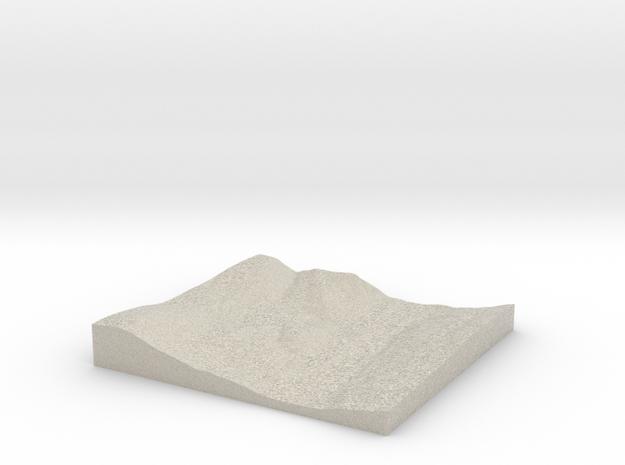 Model of Phelps Dam in Sandstone