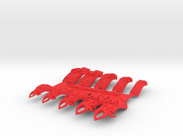 Castle Nails (Size 0)  3d printed