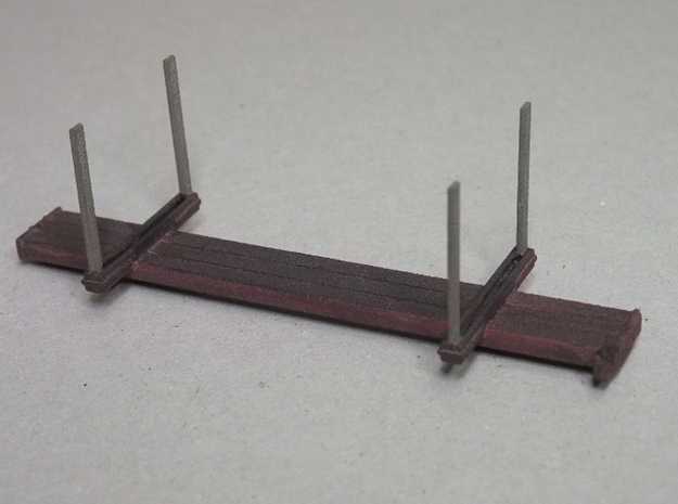 HOn30 Logging Car B (x4) 3d printed
