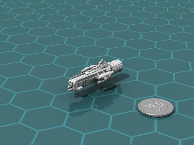Jovian Lanze class Strike Carrier in White Strong & Flexible