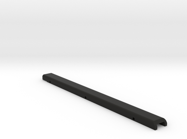 M17 flat top rail in Black Strong & Flexible