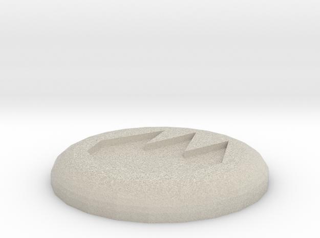 Fire Rune in Sandstone