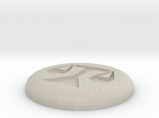 Law Rune in Sandstone