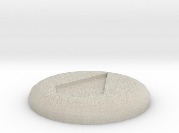 Water Rune in Sandstone