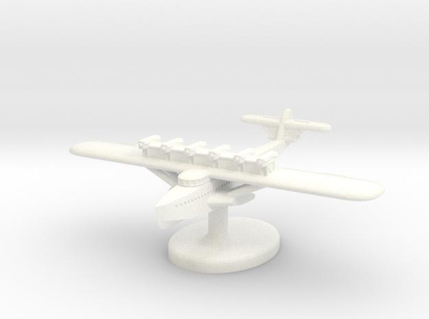 Dornier Do-X German Seaplane (Germany) 1/700 (Qty. in White Processed Versatile Plastic