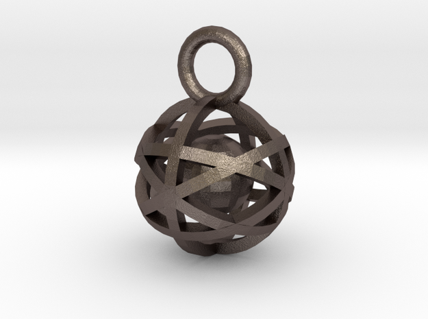 Charm: Hollow Sphere with Ball 1