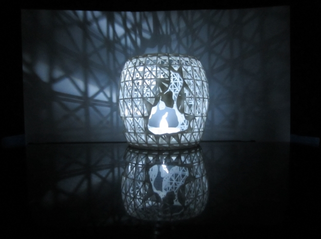 3D Printed Block Island Tea Light