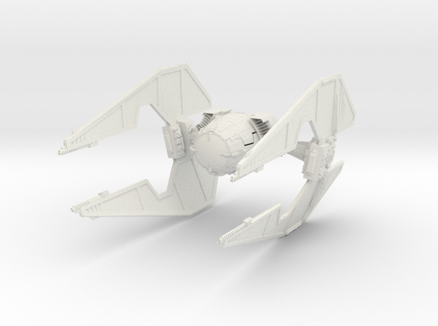 Extie Fighter    Big in White Strong & Flexible