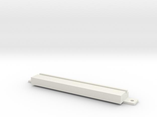 Commodore Amiga 4000 / Floppy Cover Small in White Natural Versatile Plastic