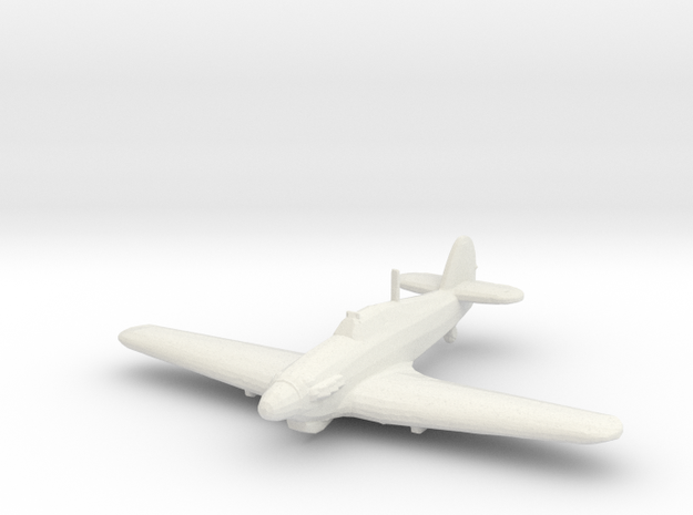 Hawker Hurricane Mk.IV 1/200 x1 WSF in White Natural Versatile Plastic