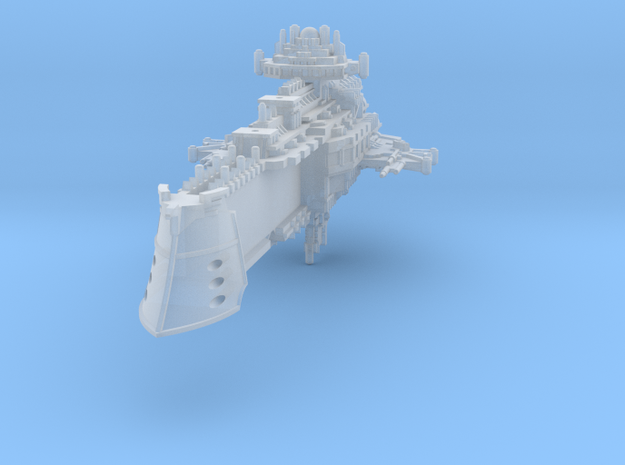Cruiser (Torpedo variant) in Smooth Fine Detail Plastic