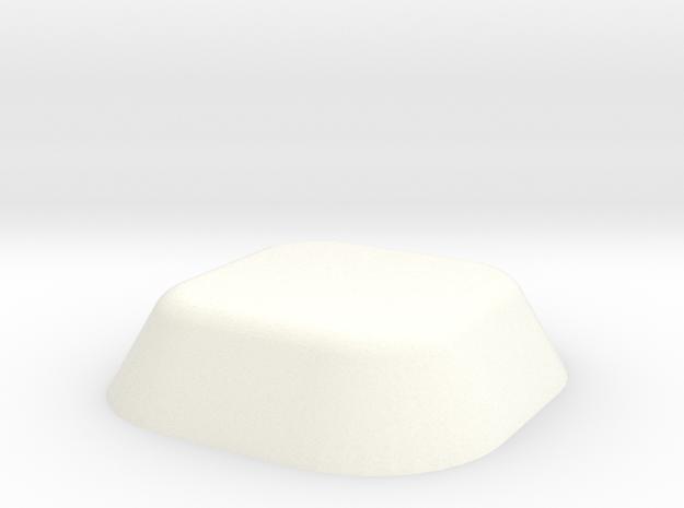 Pir in White Processed Versatile Plastic