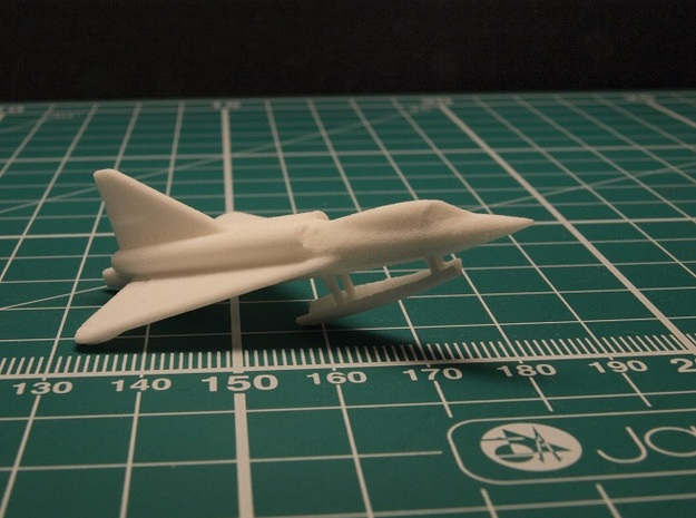 Convair F2Y Sea Dart 6mm 1/285 (With ski extended) in White Natural Versatile Plastic