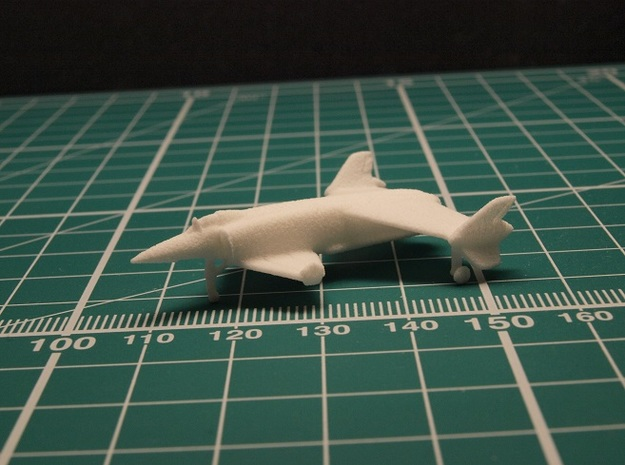 Rockwell XFV-12A 1/285 6mm in White Natural Versatile Plastic