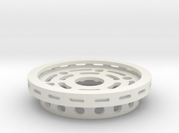 SUFO-3 Magnet Adapter in White Natural Versatile Plastic