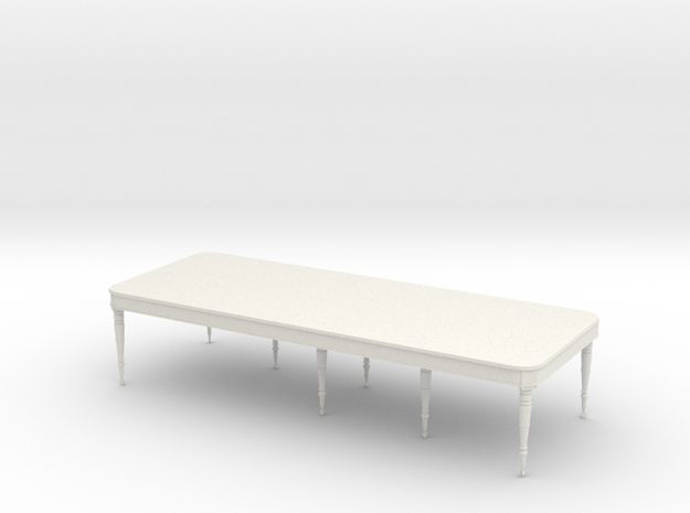 26 TABLE THREE QUARTER INCH in White Strong & Flexible