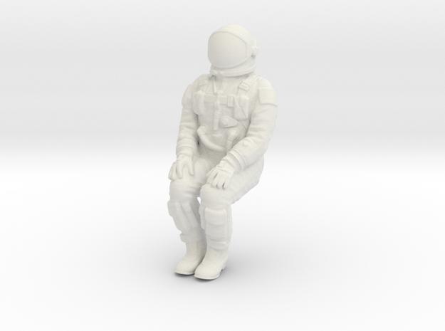 Gemini Astronaut 1:72 in White Strong & Flexible