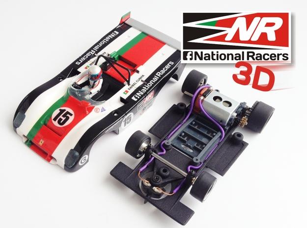 3D chassis - Sloter Ferrari 312 PB (SW)