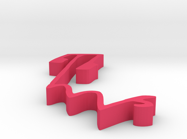 000115 : Signature of al-Quran verses numbers in Pink Processed Versatile Plastic