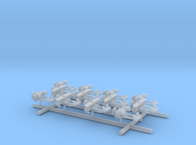 US Navy Lightning Scouts and folded in Smooth Fine Detail Plastic