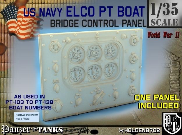 1-35 PT Boat Bridge Control Pannel Typ1