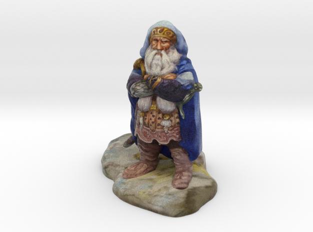 """Dwarf of Oak Shield"" - 4 inches"