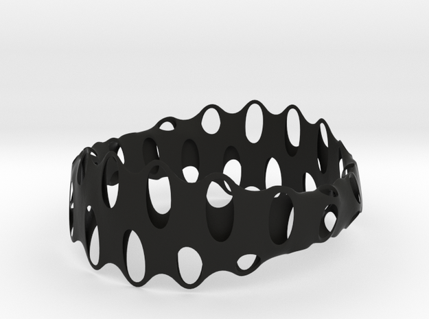 Bracelet 4 in Black Natural Versatile Plastic