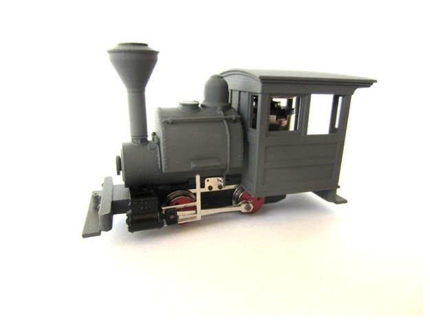 009 Porter - Main Body in Smooth Fine Detail Plastic