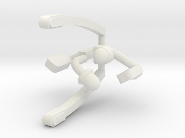 R Series JD Accessories in White Natural Versatile Plastic