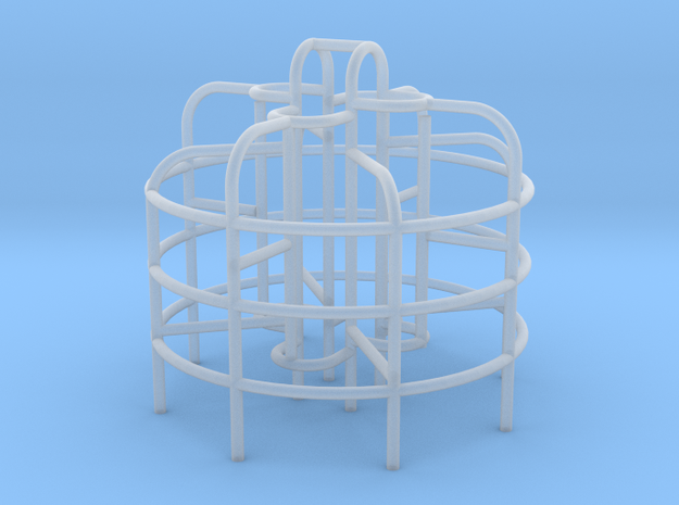 Playground Monkey Bars - N 160:1 Scale