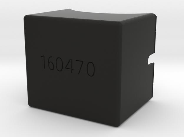 Kg12 Kg13 Terminal Block in Black Natural Versatile Plastic