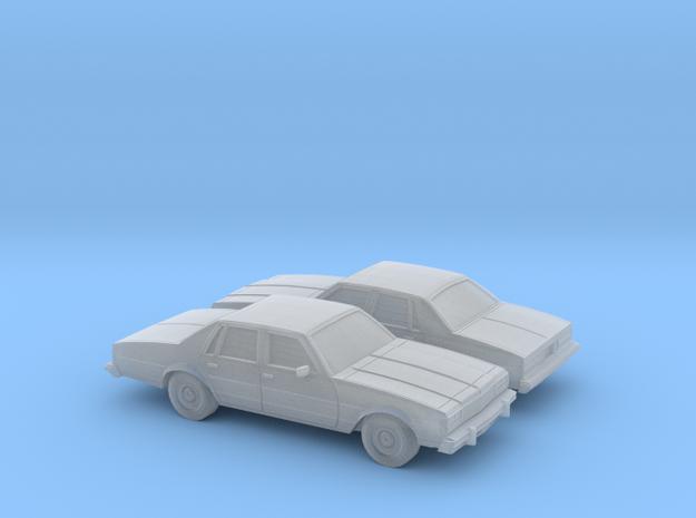 1/160 2X  1977-78 Chevrolet Caprice Sedan in Smooth Fine Detail Plastic