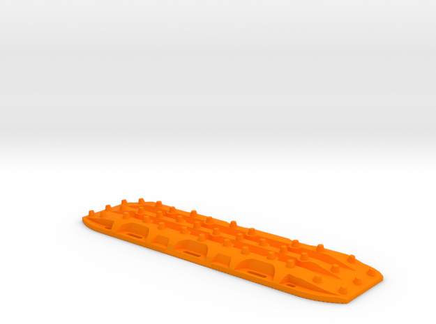 1/10 Scale Recovery board  in Orange Processed Versatile Plastic