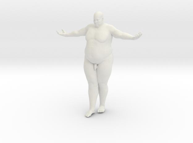1/20 Fat Man 007 in White Natural Versatile Plastic