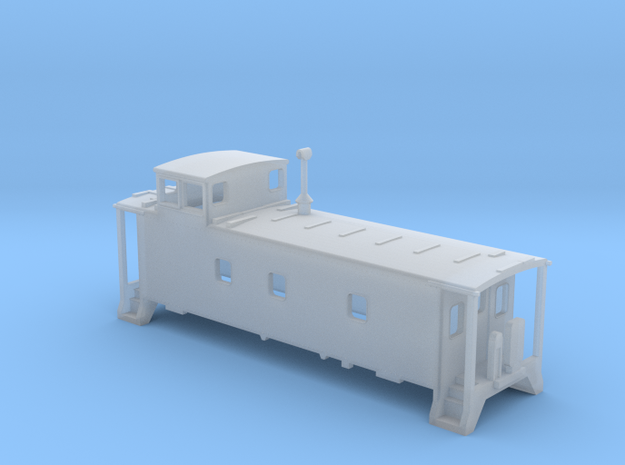 N scale DRGW caboose 01469- series in Frosted Ultra Detail