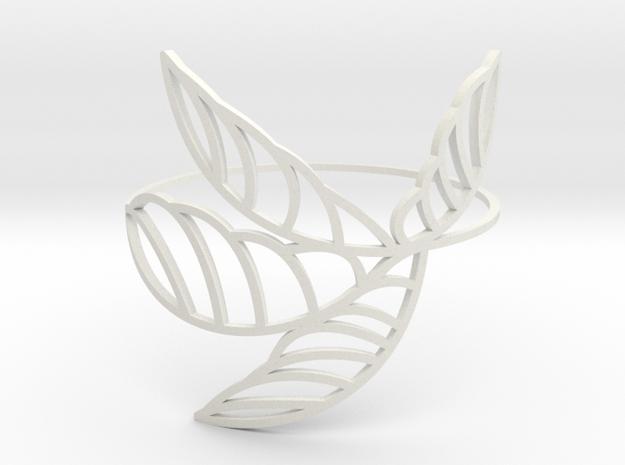 Palm_I in White Natural Versatile Plastic