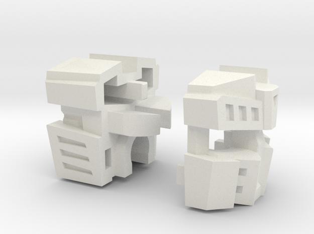 "Disposer Head ""G1"" in White Natural Versatile Plastic"